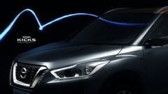 Le Nissan Kicks commence à se montrer
