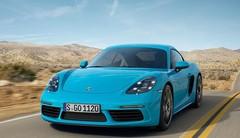 Porsche 718 Cayman : même puissance que le Boxster