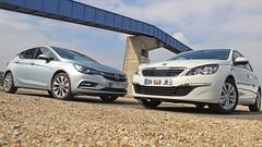 Essai Opel Astra vs Peugeot 308 : Voitures de l'année