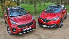 Essai Kia Sportage vs Renault Kadjar : Le danger vient de l'Est