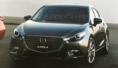 La Mazda 3 restylée fuite en ligne
