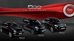 Les Fiat 500, 500X et 500L en série spéciale Rosso Amore Edizione