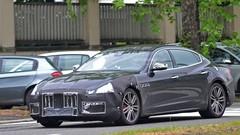 Le restylage de la Maserati Quattroporte de sortie