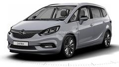 Voici l'Opel Zafira restylé