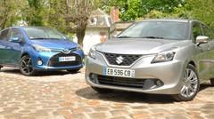 Essai : La Toyota Yaris Hybride trouve à qui parler avec la Suzuki Baleno SHVS