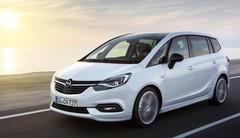 Opel Zafira (2016) : premières photos officielles du restylage