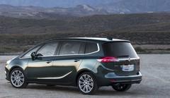 Un visage plus sage pour l'Opel Zafira