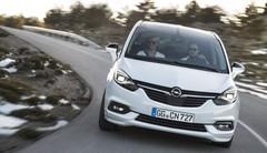 Remise à jour pour l'Opel Zafira