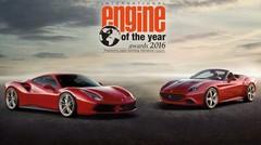 Le V8 de la Ferrari 488 GTB élu meilleur moteur de l'année 2016