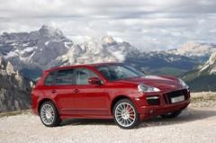 Porsche Cayenne GTS : rouge primaire