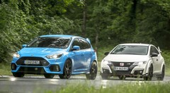 Essai Focus RS vs Civic Type R, le match des super GTI !