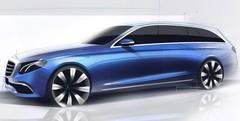 Mercedes Classe E Estate 2016 : la nouvelle Classe E Break en dessin