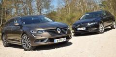 Essai Renault Talisman Estate et Skoda Superb Combi : les idées larges