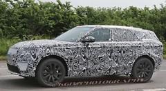 Land Rover prépare un Range Rover Evoque XL