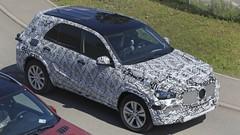 Futur Mercedes GLE : Le futur GLE en tenue de combat