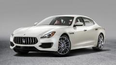 Maserati Quattroporte restylée : Surtout technique, le restylage de la Quattroporte