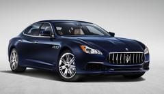 Légères retouches pour la Maserati Quattroporte
