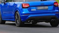 Le futur Audi SQ2 surpris en cours d'essais sur le Nürburgring