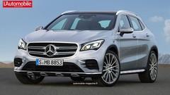 Futurs Mercedes GLA et GLB : Le futur GLA doublé d'un GLB