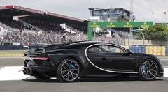 Bugatti : la Chiron a pris 380 km/h au Mans avant les 24 Heures !