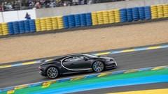 La Bugatti Chiron à 380 km/h au Mans