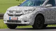 Premiers spyshots du Honda CR-V 2018