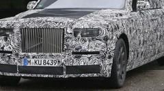 La future Rolls-Royce Phantom 2018 et son intérieur surpris en photos