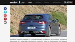 La future Renault Mégane RS déjà sur la route