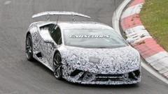 La Lamborghini Huracan Superleggera en route vers le Mondial