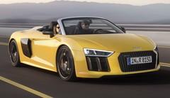 Prix Audi R8 Spyder 2016 : des tarifs à partir de 184 000 euros