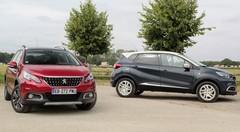 Essai Renault Captur vs Peugeot 2008 : duel au sommet