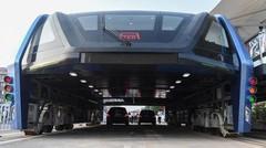 Chine : Le bus du futur a roulé pour la première fois