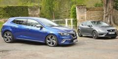 Essai Renault Mégane GT et Seat Leon Cupra : du plaisir !