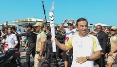 JO 2016 : Carlos Ghosn porte la flamme, Nissan porte les sportifs