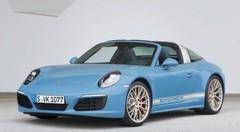 Porsche 911 Targa 4S Exclusive Design Edition : la belle bleue