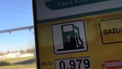 Le retour du gazole à moins d'un euro le litre