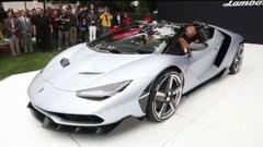 Lamborghini Centenario Roaster : averses interdites