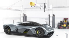 Aston Martin : sans doute une motorisation hybride pour l'AM-RB 001