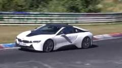 La BMW i8 Spyder 2017 aperçue sur le Nürburgring