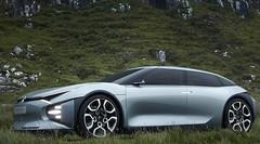 CXPERIENCE concept, la Citroën hybride rechargeable de demain