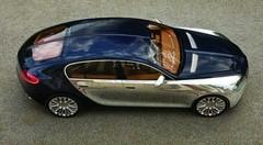 Bugatti : une berline est bien à l'étude