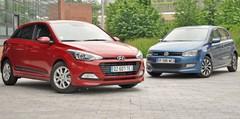 Essai Hyundai i20 et Volkswagen Polo Bluemotion : les émissions plus que les émotions