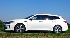 Essai Kia Optima 2 SW hybride rechargeable