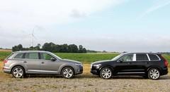 Essai Audi Q7 e-tron vs Volvo XC90 T8 : Hulk ou Godzilla ?
