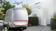 Mercedes Vision Van : il fait presque tout tout seul