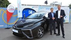 Toyota Mirai: une première livraison en France