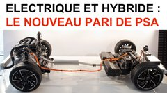 Électrique et hybride: le nouveau pari de PSA