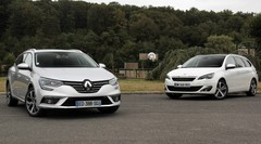 Essai Renault Mégane 4 Estate vs Peugeot 308 SW : french connection