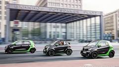 Smart Electric Drive : une famille complète d'urbaines