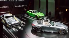 Les Mercedes AMG GT C Roadster et R dans le grand bain